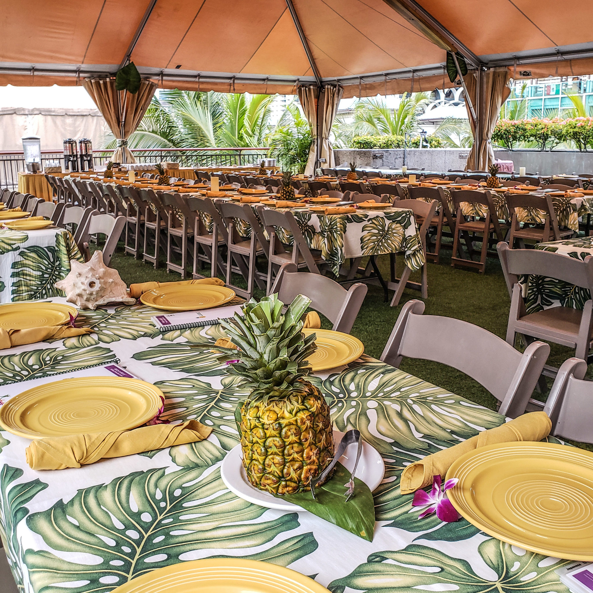 Have a Blast at the Rock-A-Hula Show with the Green Room VIP Dining Experience