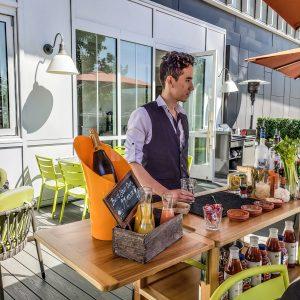 Vancouver - Canada - British Columbia - Parq Hotel - Honey Salt - Brunch - Sultan Sandur - Build Your Own Caesar