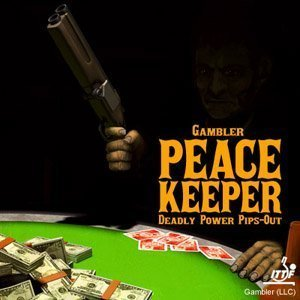 Gambler peace Keeper Medium Pips Table Tennis Rubber