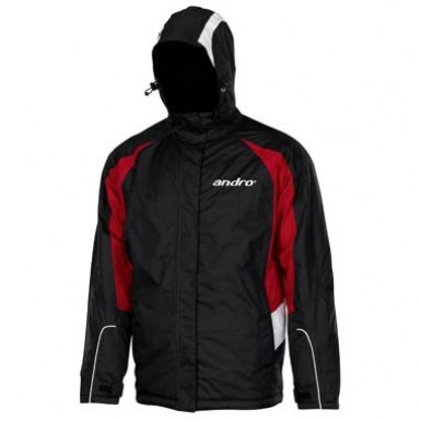 andro PAX Outdoor Jacket black/red/white