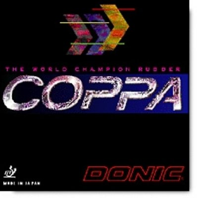 "Donic Coppa ""World Champion Rubber"""