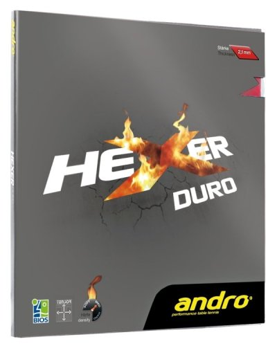 andro Hexer Duro, More Spin, More control More Durable