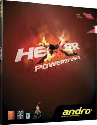 andro Hexer Powersponge, More Sound, More Control - Its MAGIC