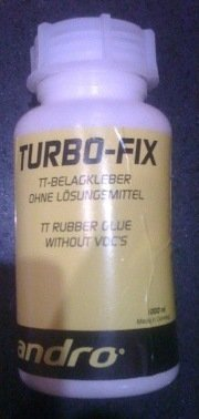 Andro Turbo-Fix Table Tennis Rubber Glue without VOC 1000ml