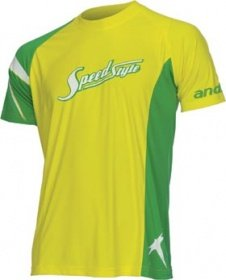 """andro T-Shirt SpeedStyle 06 Yellow """"100% Microfibre"""""""