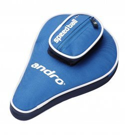 andro Batcover Basic, with ball compartment Blue/Nightblue