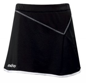 andro Womens Skirt Muba, Black/White