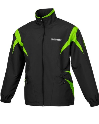 Donic Tracksuit Jacket Viper Black/Green