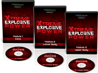Table Tennis Master - Extreme Explosive Power 3 set DVD