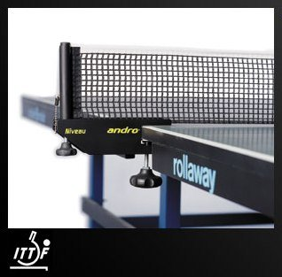 "Andro Niveau, Net & Post Set ""ITTF approved"""