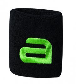 Andro Alpha Wrist Band - Sweat Absorbsion Black/Green