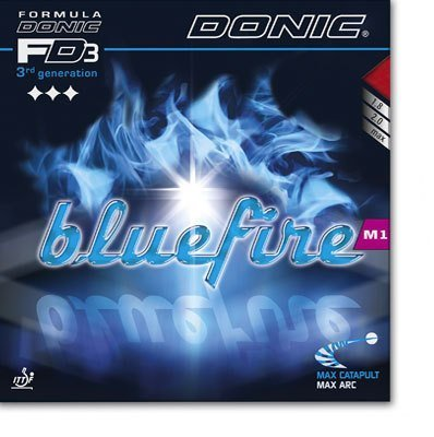Donic Bluefire M1 - 4th Generation, the blue miracle