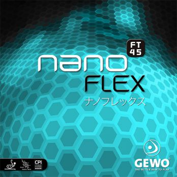Gewo Table Tennis Rubber nanoFLEX FT45