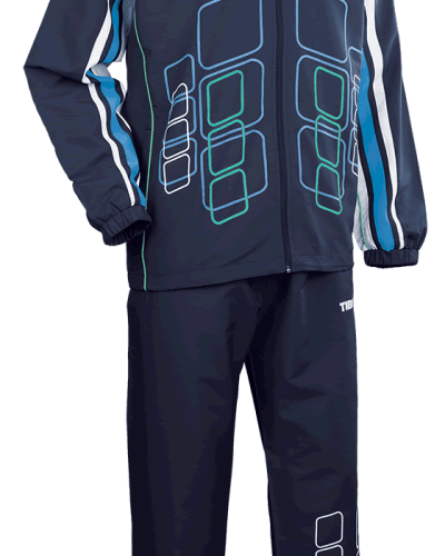 Tibhar Tracksuit Cube Complete Navy/Blue