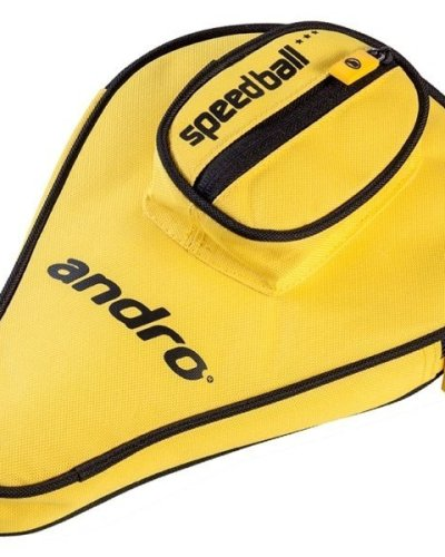andro Batcover Basic, with ball compartment Yellow/Black