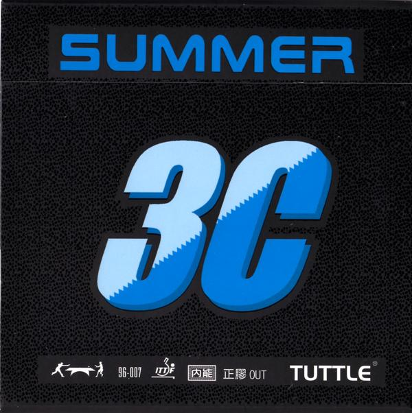 Tuttle Summer 3C Short Pips Rubber - No.35 Soft Sponge