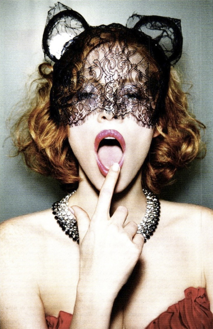 Jessica Chastain by Ellen von Unwerth For Vanity Fair August 2011