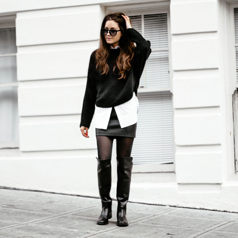 OOTD Monochrome Inspiration