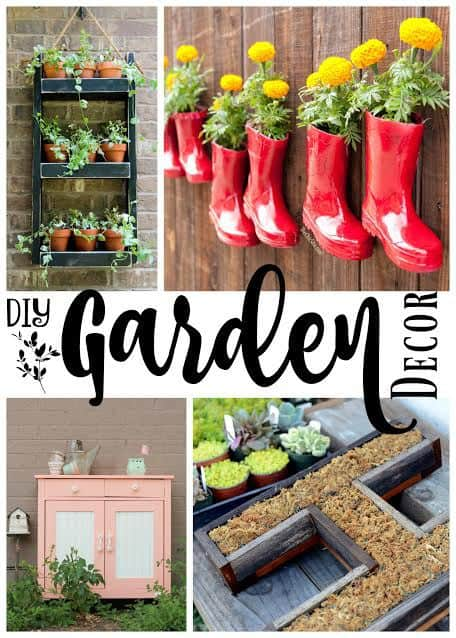 Awesome DIY Garden Decor for your Yard by Just the Woods on Easy Diy Garden Decor id=89727