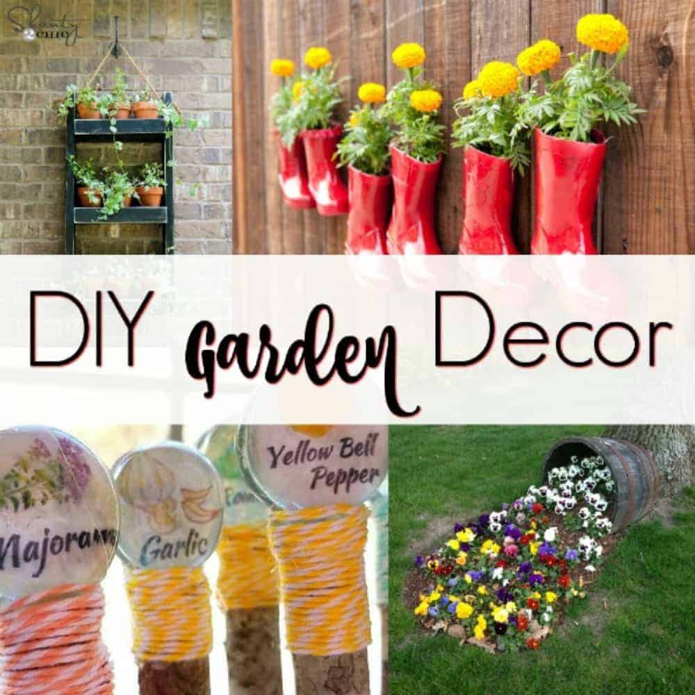 Awesome DIY Garden Decor for your Yard by Just the Woods on Diy Garden Decor  id=42624