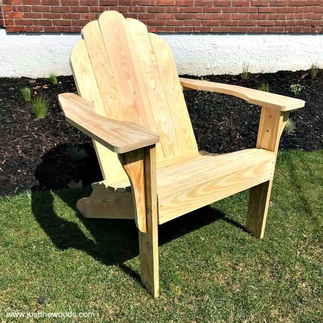 How to Build Adirondack Chairs from Scratch
