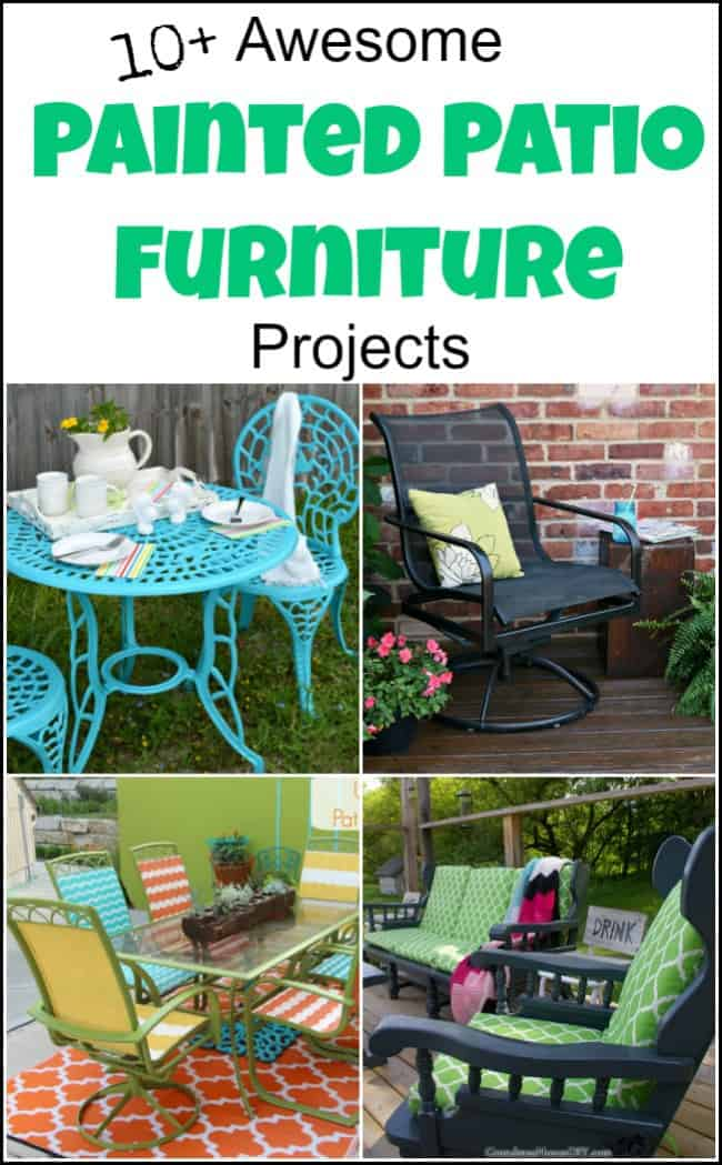 Painting Outdoor Furniture For A Beautiful Quick Update