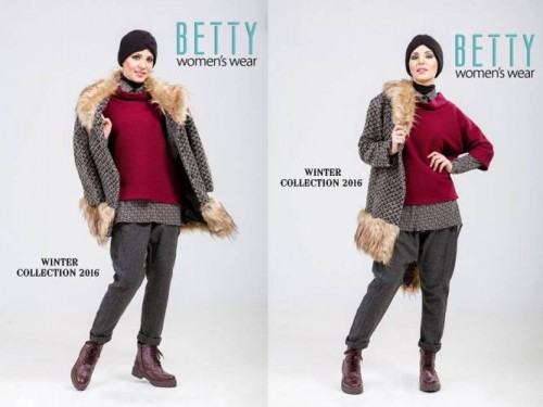 fur coat hijab style