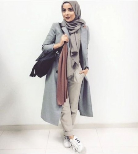 adidas sporty hijab style