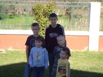Tristan, Kosta, Abby, Gavin and Luke