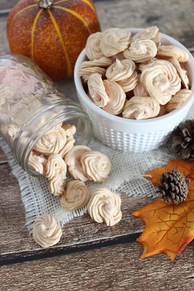 Dessert - Pumpkin Spice Meringue Cookies