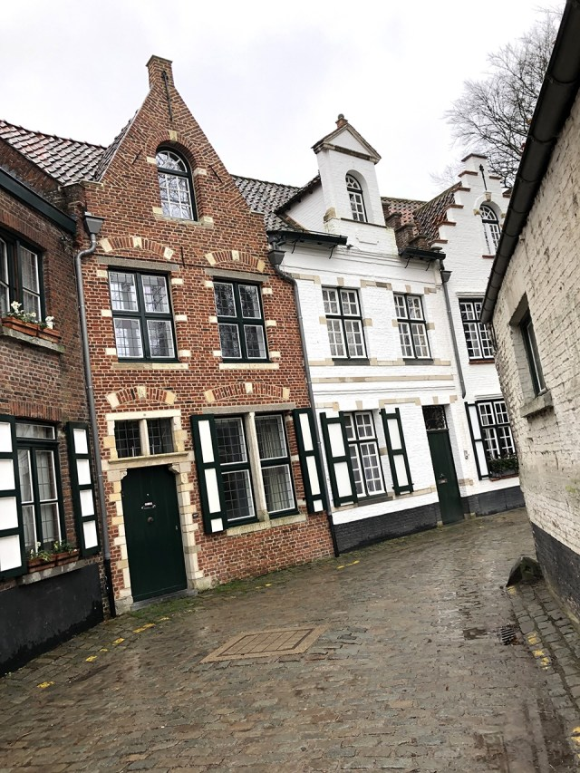 The Beautiful Backstreets Of Bruges