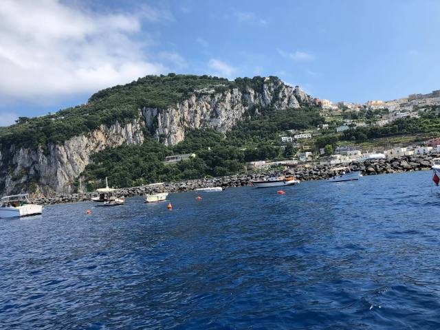 Visiting Capri By Ferry, Naples