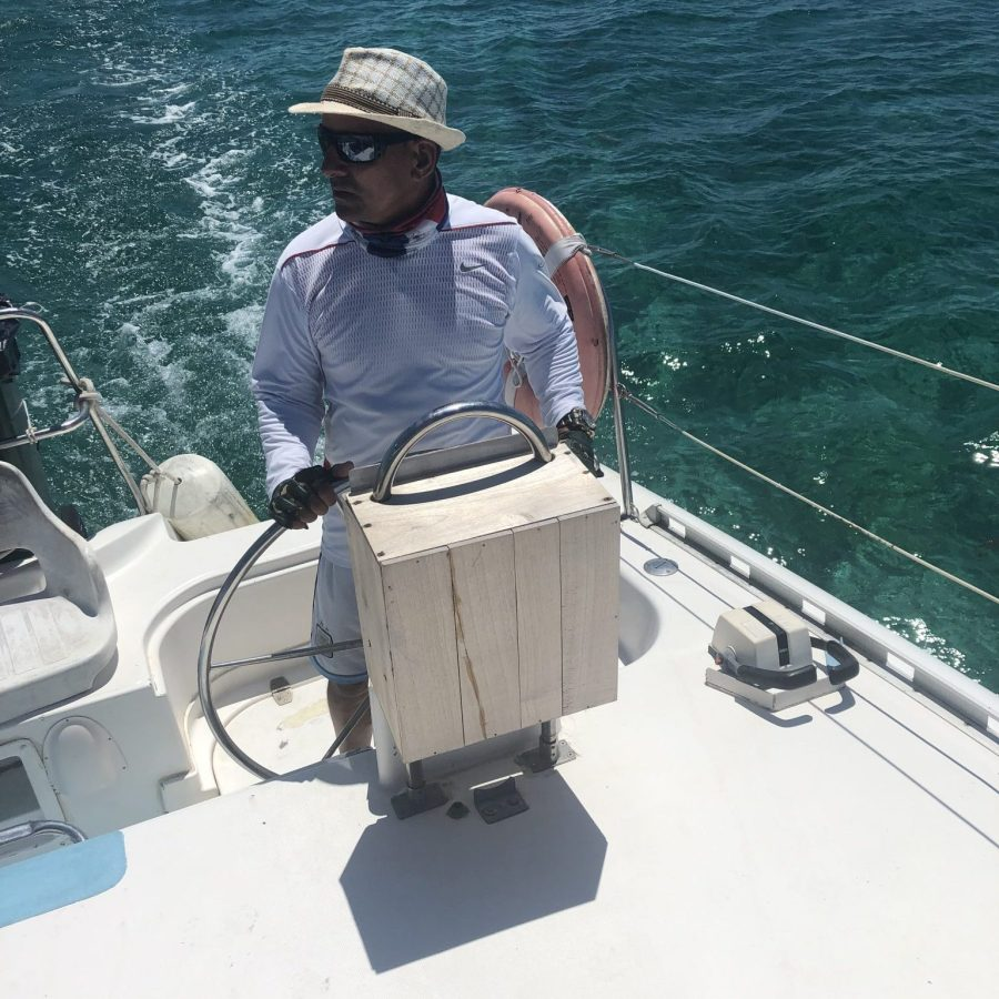 Captain Of The Catamaran