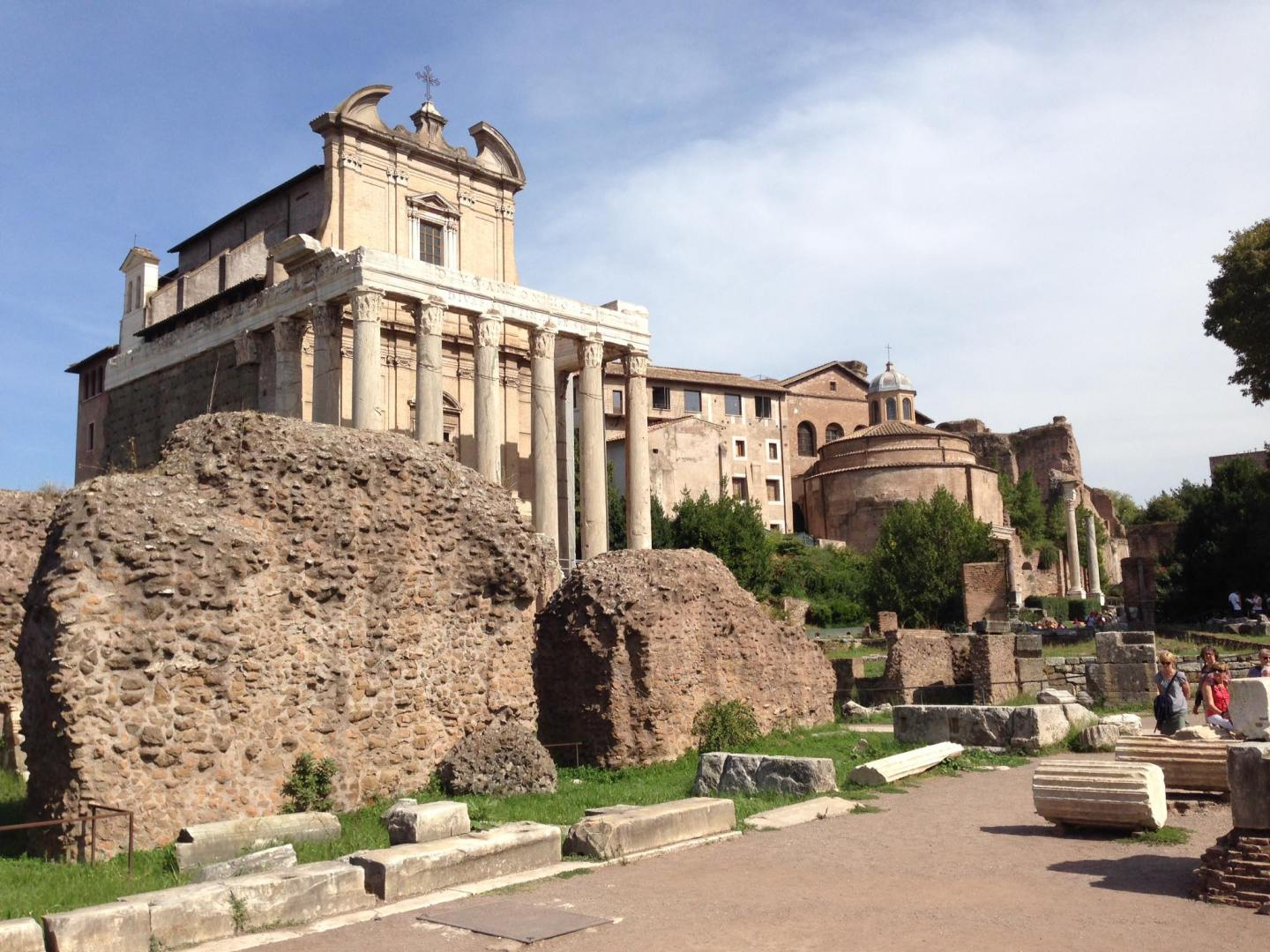 We were never short of things to see during our surprise trip to Rome.