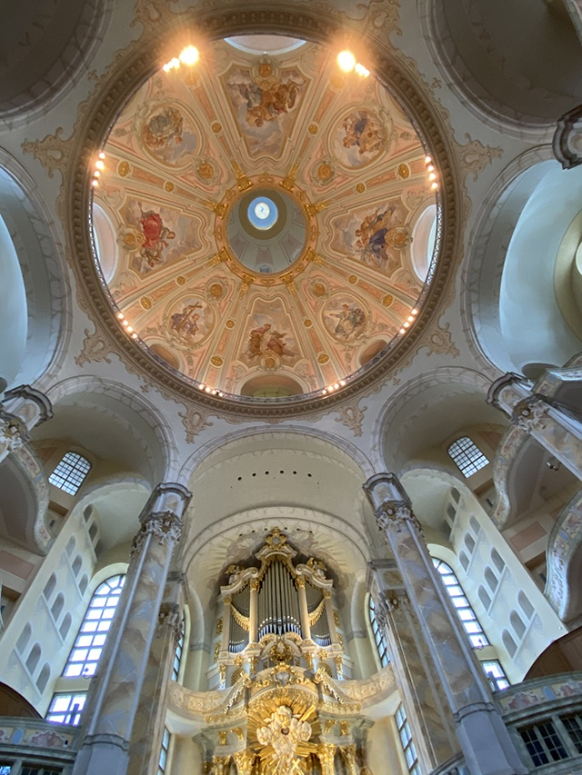 Inside The Frauenkirche, Dresden