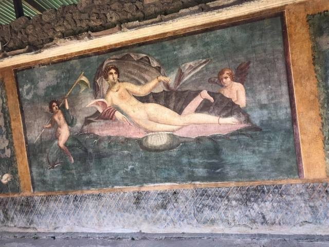 Preserved Fresco, Pompeii, Naples