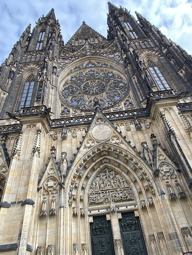 A Beautiful Example Of Gothic Architecture, St Vitus Cathedral, Prague
