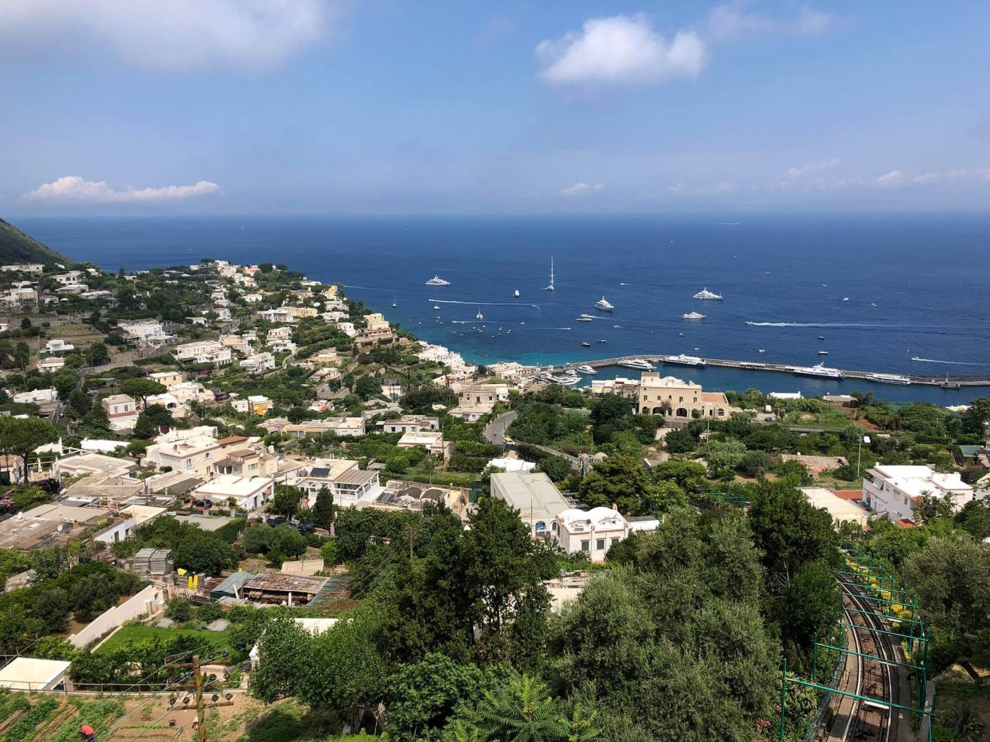 View Our Over The Bay Of Naples, Capri