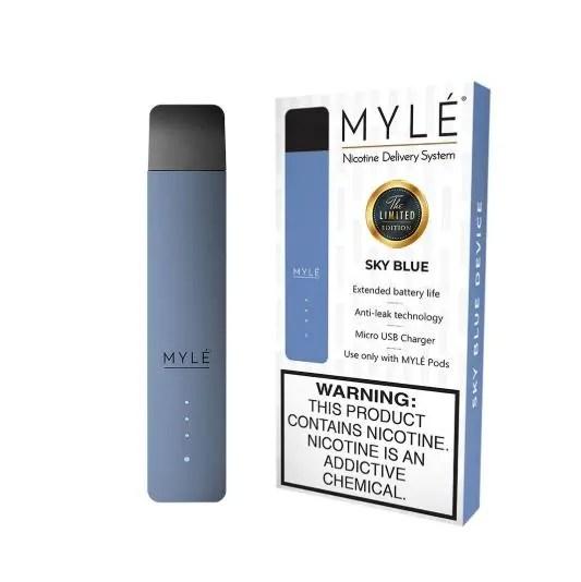 Vape Devices light blue