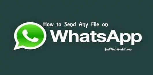 Send Any File on Whatsapp