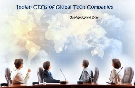 Best Indian CEOs of Global Tech Companies