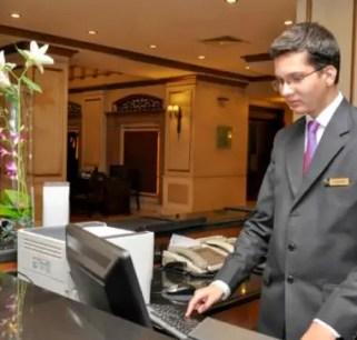 Online room booking