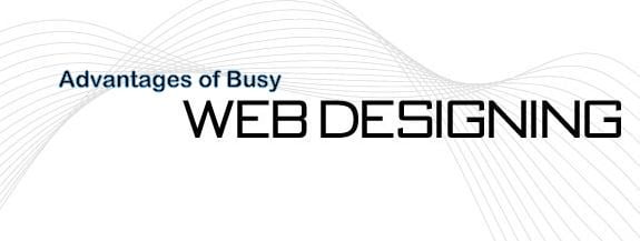 Advantages of Busy Web Design