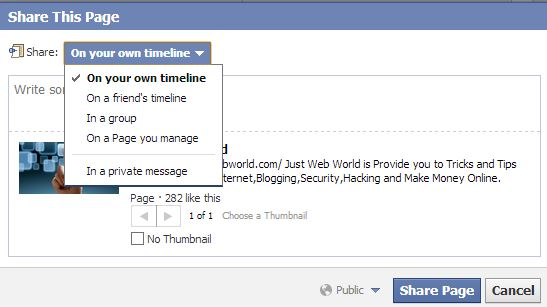 share-your-page-to-group-timeline