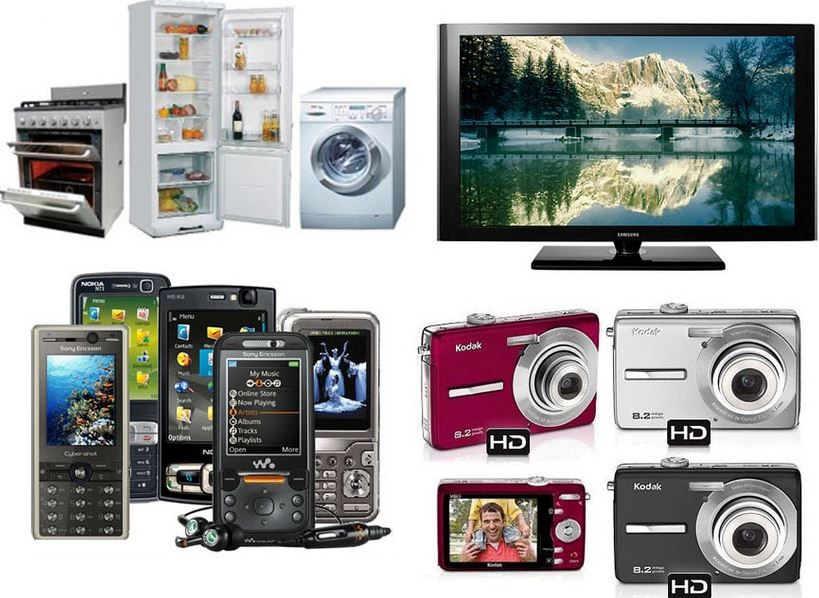 Different Electrical Gadgets And Electronic Products