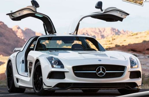 Mercedes Benz SLS AMG Black Series Luxury Cars