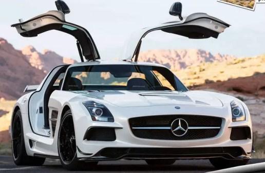 Mercedes Benz SLS AMG Black Series Luxury Cars
