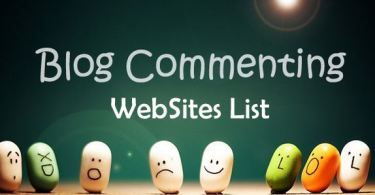 High PR dofollow blog commenting sites