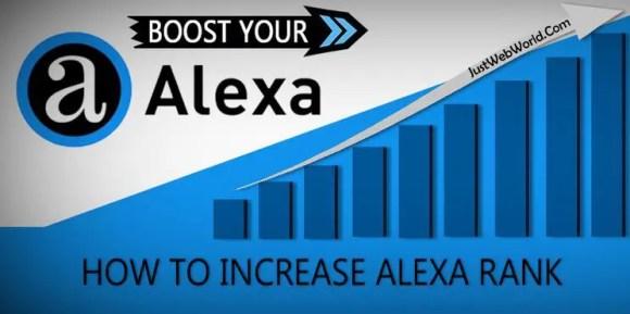 Boost Alexa Ranking