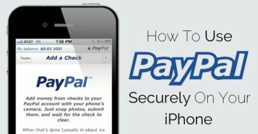 Use PayPal Securely on your iPhone